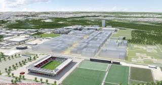 Nuevo parque tecnologico de Audi IN-Campus