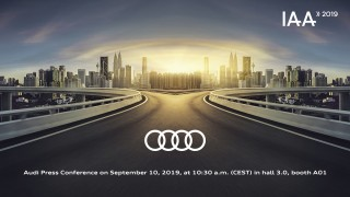 Audi at the IAA 2019