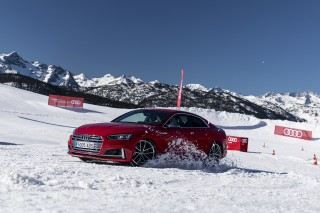 Audi Winter driving experience 2020