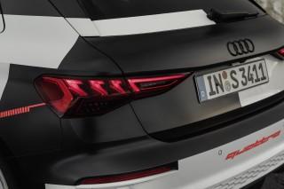Audi A3 Sportback Prototype Covered Drive