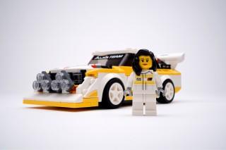 Audi y Lego Michele Mouton