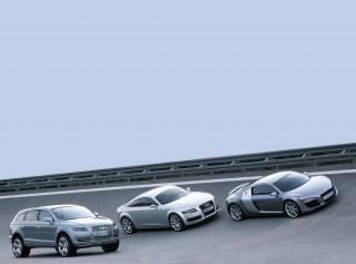 Three sensational Audi studies at a glance: the Audi Pikes Peak