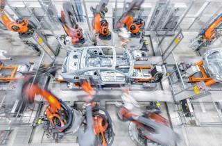 Produktion Audi A5