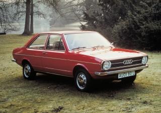 Audi 80 L, 1.3 litre four-cylinder-engine, 40 kW (55 bhp), 1973