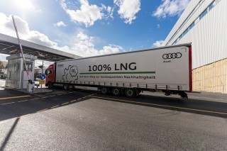 Audi site in Neckarsulm continues to drive sustainable logistics