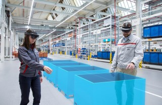 Audi is using augmented reality to increase efficiency in logist