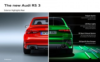 The new Audi RS 3