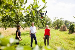 Proyecto de la Fundación para el Medioambiente de Audi: drones para el seguimiento de las cosechas