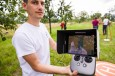 Drones for environmental protection: Successful monitoring of fr