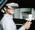 Virtual reality entertainment holoride on the road to series mat